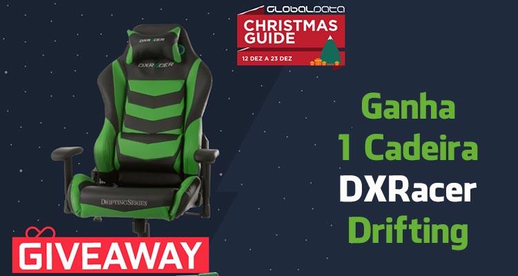 Ganha 1 Cadeira DXRacer Drifting