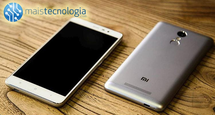 Photo of Ganha 1 Redmi Note 3 Mais Tecnologia