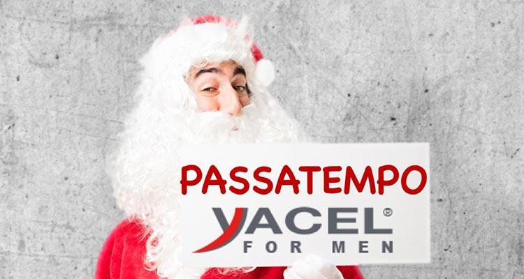 Passatempo de Natal Yacel for Men