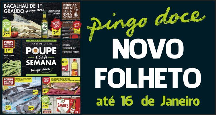 Folheto Pingo Doce até 16-01-2017