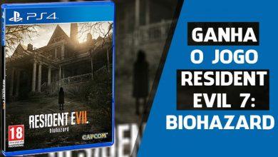 Ganha o Jogo Resident Evil 7