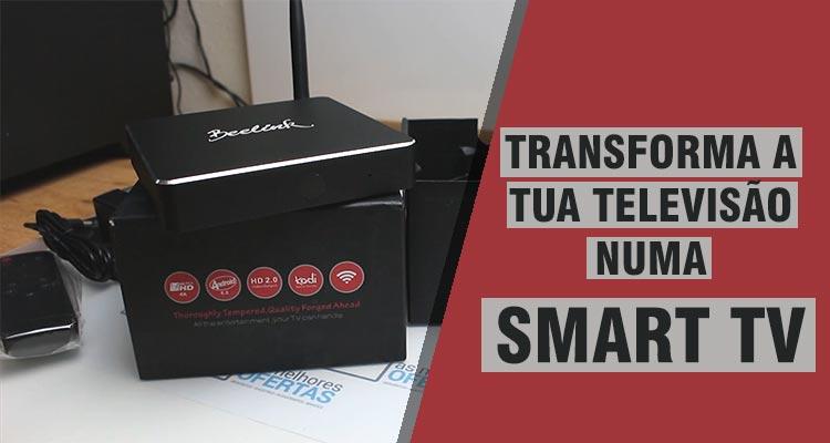 Photo of Transforma a Televisão numa Smart TV
