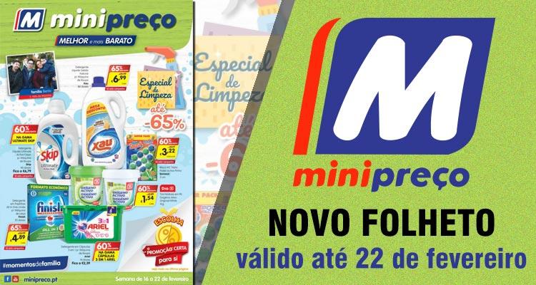 Folheto Minipreço até 22-02-2017