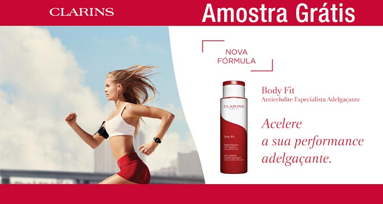 Photo of Amostra Grátis Clarins Body Fit