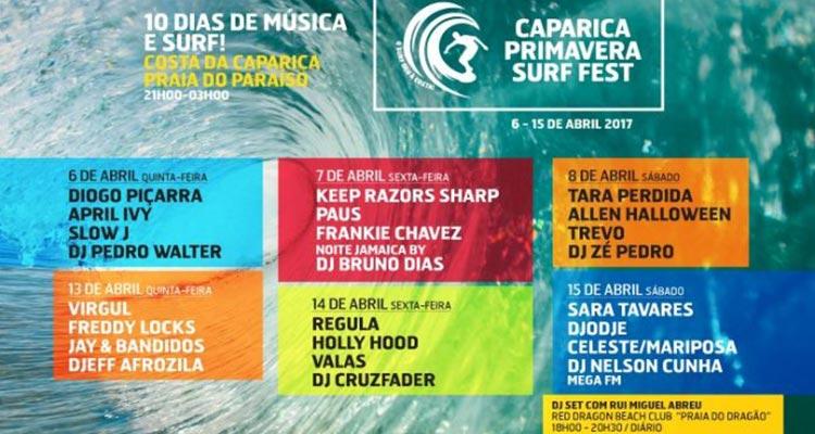 Bilhetes Caparica Primavera Surf Fest