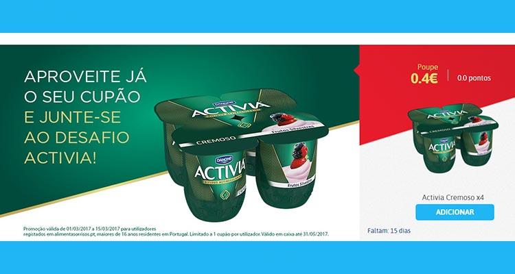 Photo of Cupões 0 Pontos Danone Activia