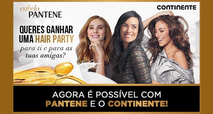 Ganha 1 Hair Party Pantene