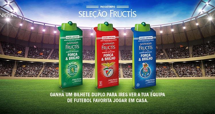 Ganha Bilhetes de Futebol com Fructis