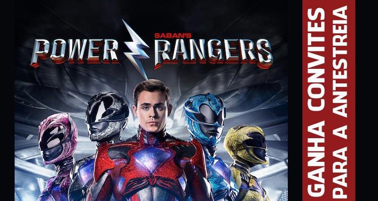"""Ganha Convites para a Antestreia de """"Power Rangers"""""""