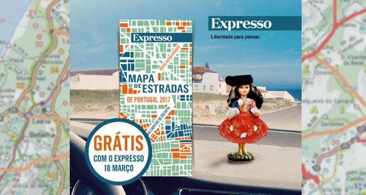 Mapa de Estradas Gratis Expresso