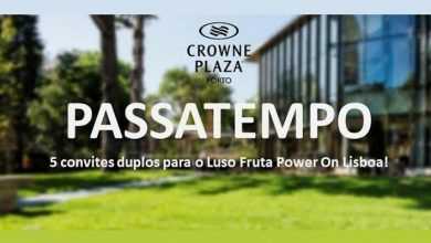 Bilhetes Luso Fruta Power On