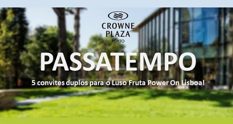 Bilhetes Luso Fruta Power On