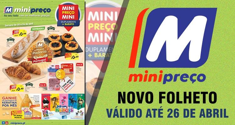 Folheto Minipreço até 26-04-2017