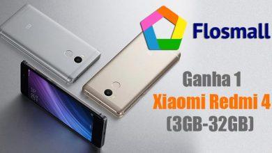 Ganha 1 Xiaomi Redmi 4