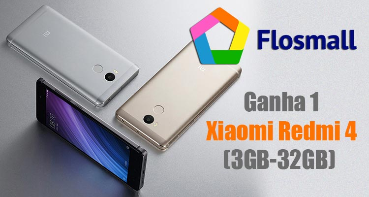 Photo of Ganha 1 Xiaomi Redmi 4 com a Flosmall