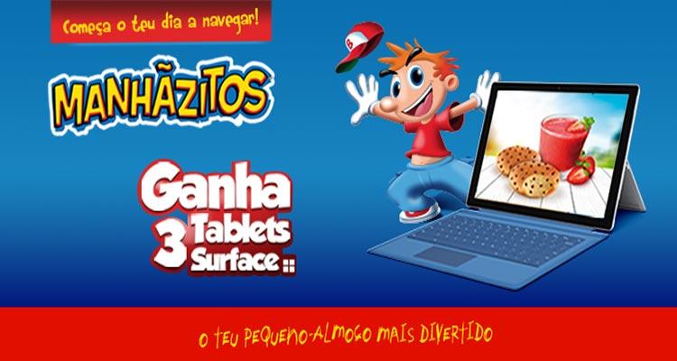 Photo of Ganha Tablets Surface com Manhãzitos