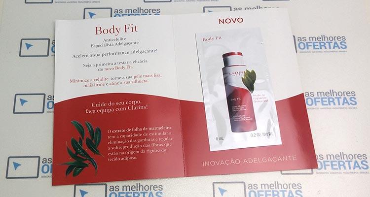 Photo of Recebido – Amostra Clarins Body Fit