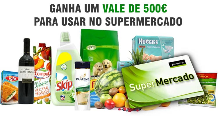 Photo of Ganha 1 Vale de 500 Euros para o Supermercado