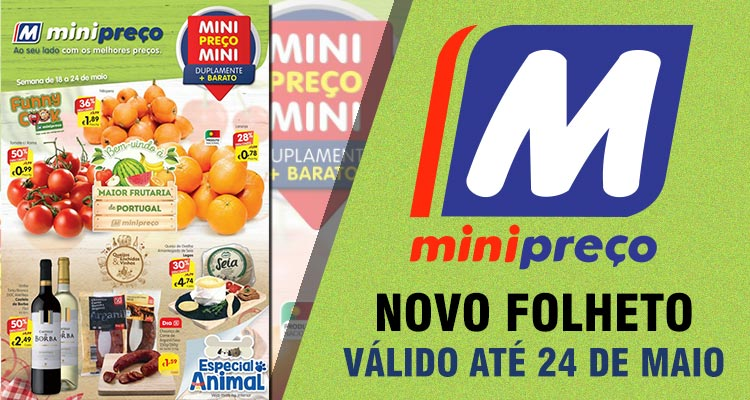 Folheto Minipreço até 24-05-2017