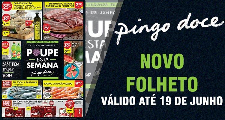 Folheto Pingo Doce até 19-06-2017