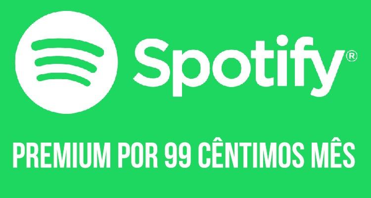 Promoção Spotify Premium
