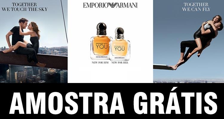 Amostra Grátis Perfume You da Emporio Armani