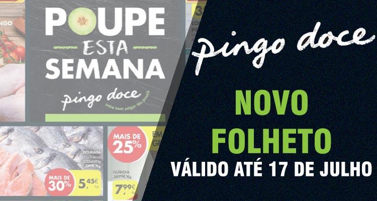 Folheto Pingo Doce até 17-07-2017