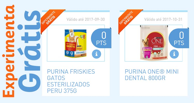 Experimenta Grátis Comida para Animais Nestlé