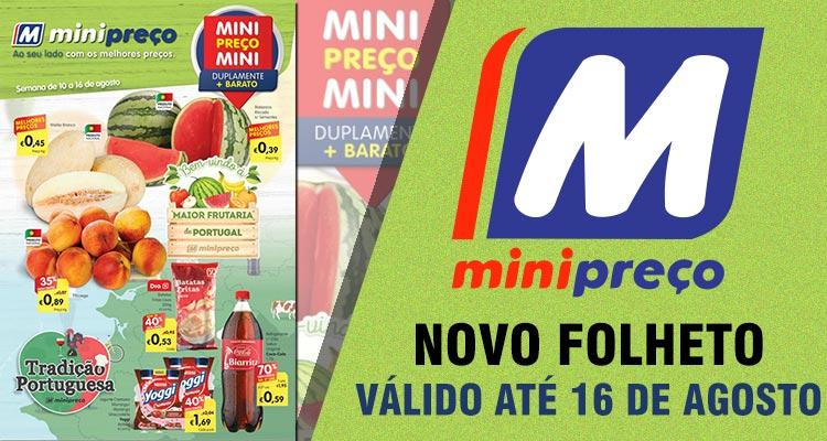 Folheto Minipreço até 16-08-2017
