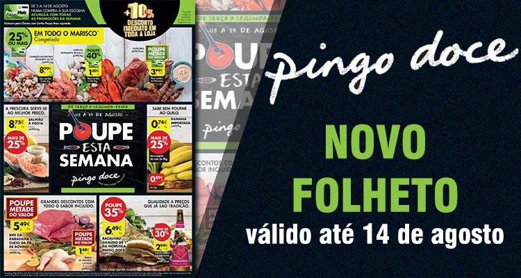 Folheto Pingo Doce até 14-08-2017
