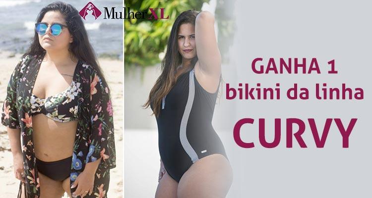 Ganha 1 Bikini Curvy