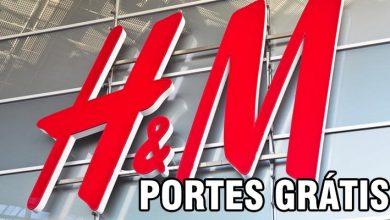 Portes Grátis na H&M