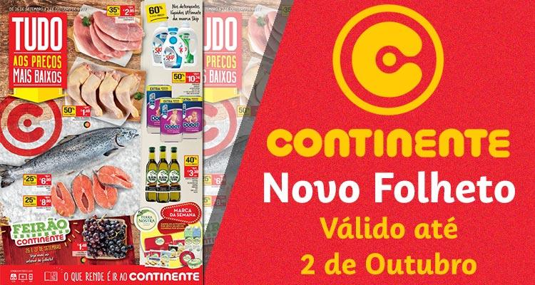 Folheto Continente até 02-10-2017