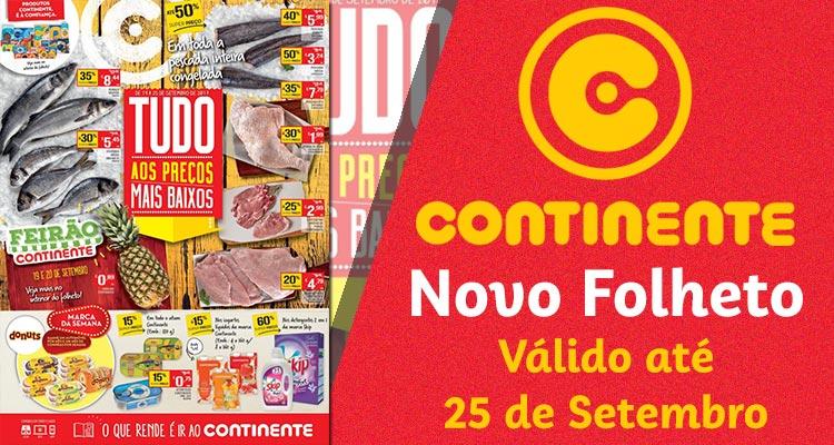 Folheto Continente até 25-09-2017