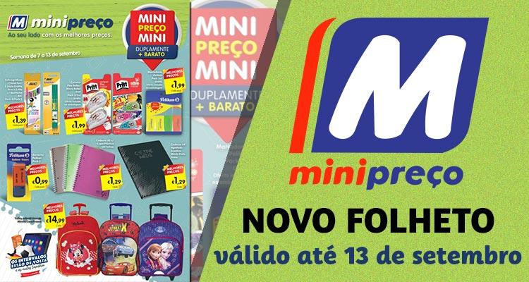 Folheto Minipreço até 13-09-2017