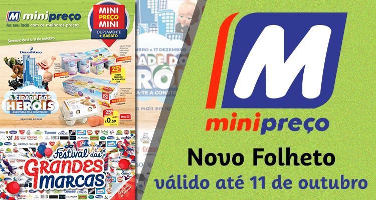 Folheto Minipreço até 11-10-2017