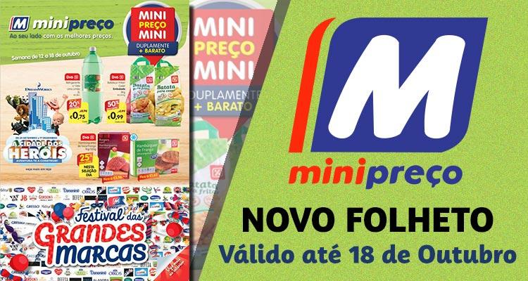 Folheto Minipreço até 18-10-2017