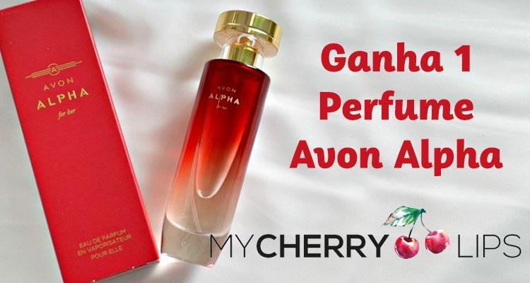 Ganha 1 Perfume Avon Alpha