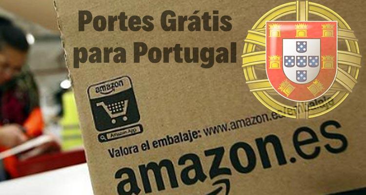 Amazon Espanha Portes Grátis Portugal