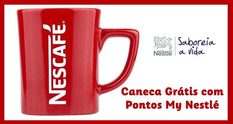Caneca Nestlé Grátis