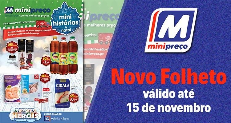Folheto Minipreço até 15-11-2017