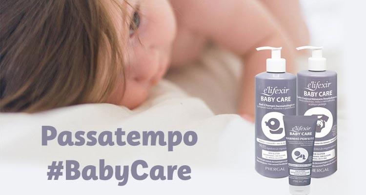 Ganha 1 Conjunto e'lifexir Baby Care