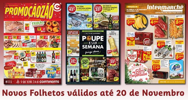 Novos Folhetos até 20-11-2017