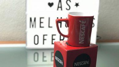 Recebido - Caneca Nescafé
