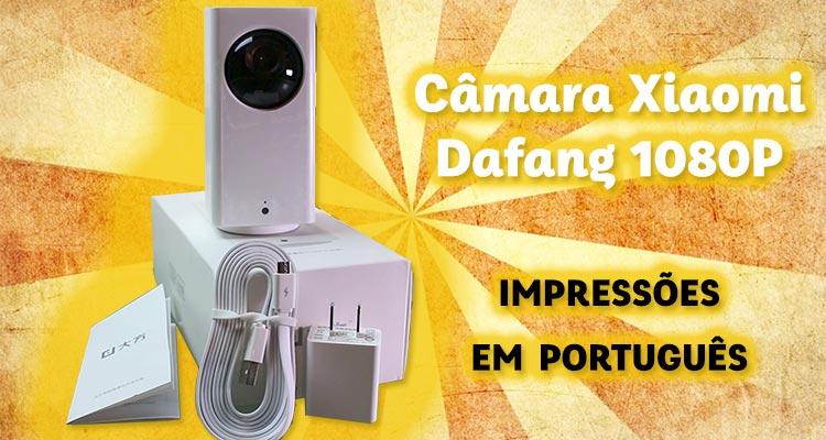 Photo of Câmara Xiaomi Dafang 1080P