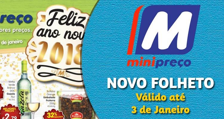 Folheto Minipreço até 3 Janeiro 2018