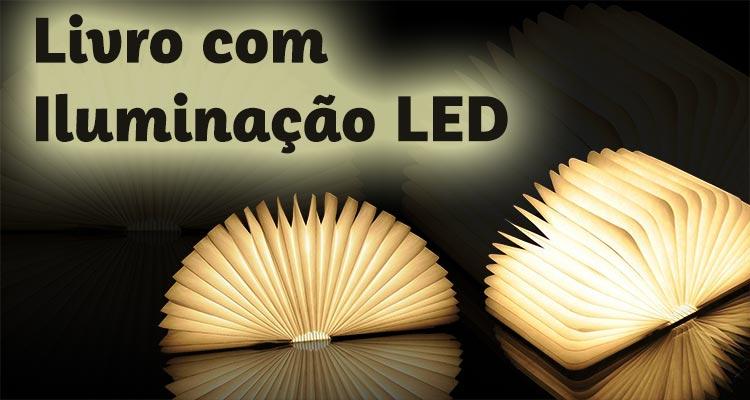 Photo of Livro com Iluminação LED – Prenda Perfeita e Original
