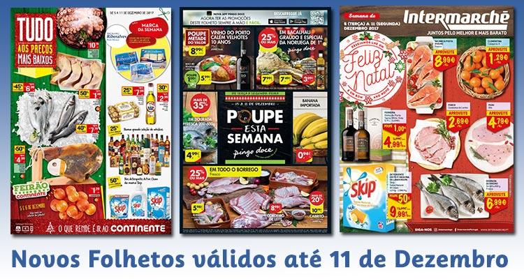 Novos Folhetos até 11-12-2017