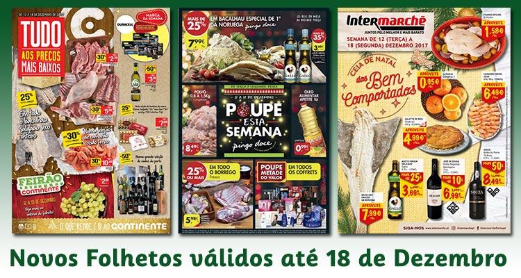 Novos Folhetos até 18-12-2017