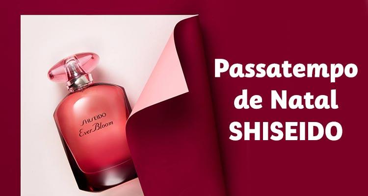 Passatempo de Natal Shiseido